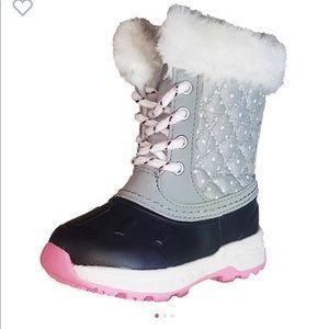 Carter's Kids' Girl Vermont2 Snow Boot Sz 7